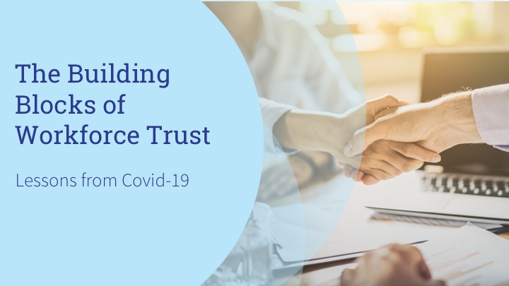 Building Blocks of workplace trust